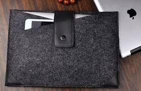 Bildergebnis für notebook hülle filz
