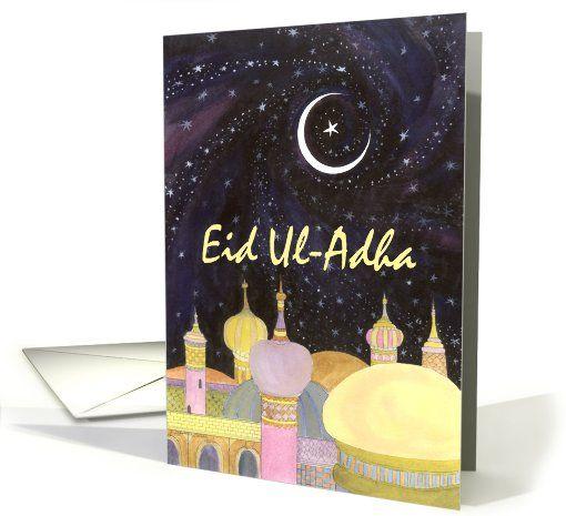 Arabian Night, Eid Ul-Adha card