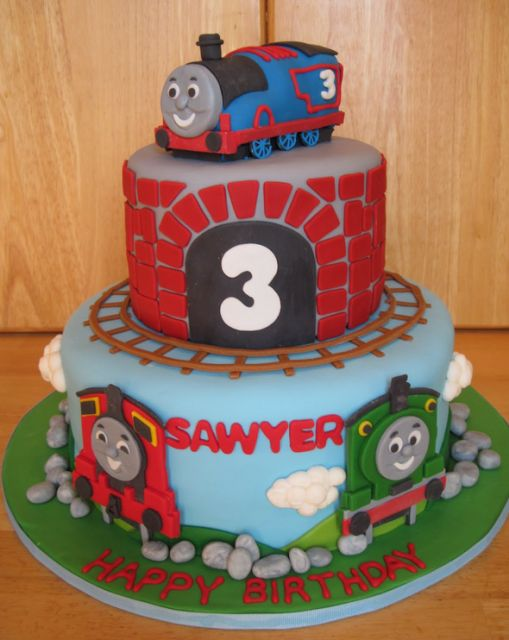 thomas the train cake pictures | Thomas the train cake picture.PNG