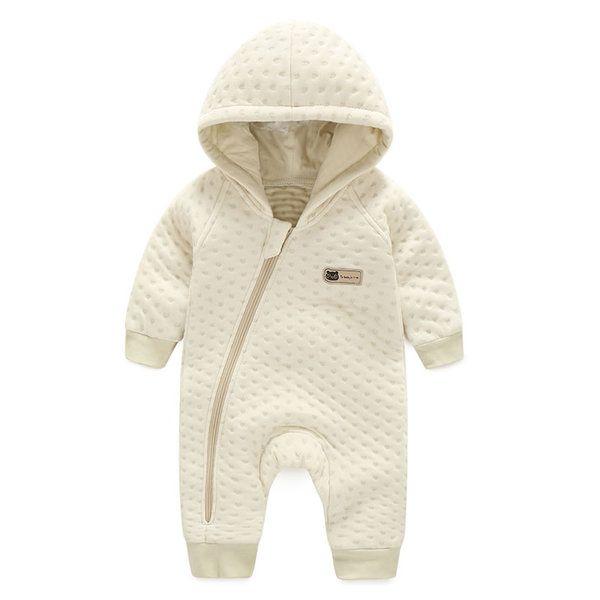 Ползунки, комбинезоны из Китая :: Раввин младенца сиамские осень и зимняя одежда ребенка хлопок с длинным рукавом HA одежда цвет хлопка новорожденных комбинезон с капюшоном зимой.