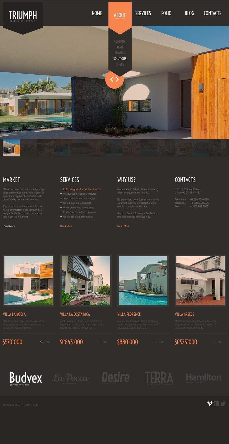 192 best Web Design - Real Estate images on Pinterest