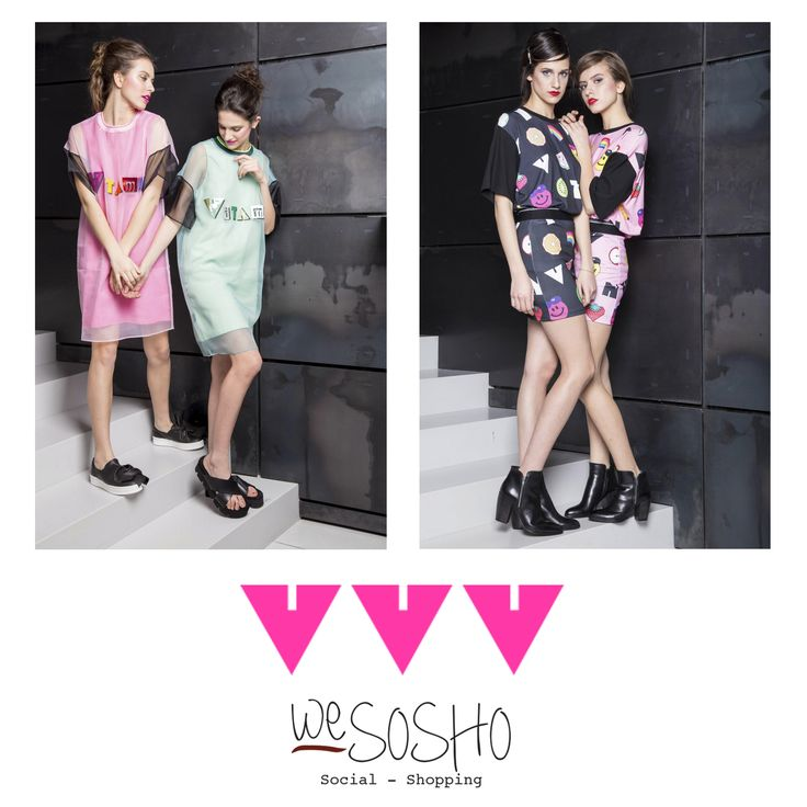 WeSOSHO Exclusive, VVV! Viki Pio, young designer from South Korea, has a philosophy of minimalist silhouette but experiments with a variety of graphics and textile techniques to make it unique and funky! Shop at wesosho.com #wesosho #weglobetrotters #wesouthkorean