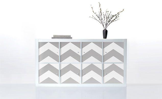 PANYL for IKEA EXPEDIT / KALLAX | PANYL self-adhesive furniture finishes