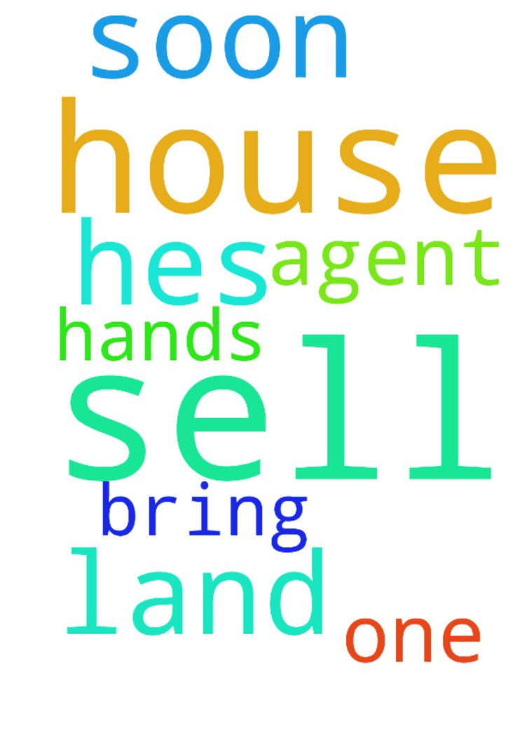 Please  pray for me that we will sell the house very - Please pray for me that we will sell the house very soon that the land agent will bring some one and God will have hes hands over us . Thank you  Posted at: https://prayerrequest.com/t/tpn #pray #prayer #request #prayerrequest
