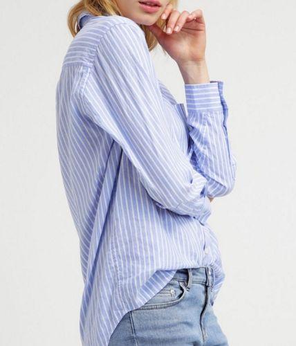 Bruuns Bazaar ROCHEL Koszula damska niebieska paski blue