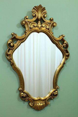 Barokke spiegel 23885 op www.lansantiek.com