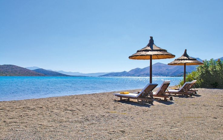 Elounda Gulf Villa Private Beach