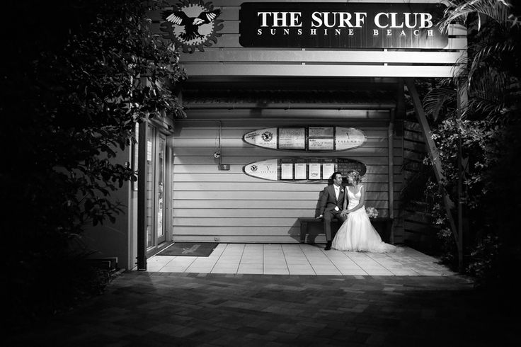 Beautiful wedding ceremonies and receptions at the Sunshine Beach Surf Club