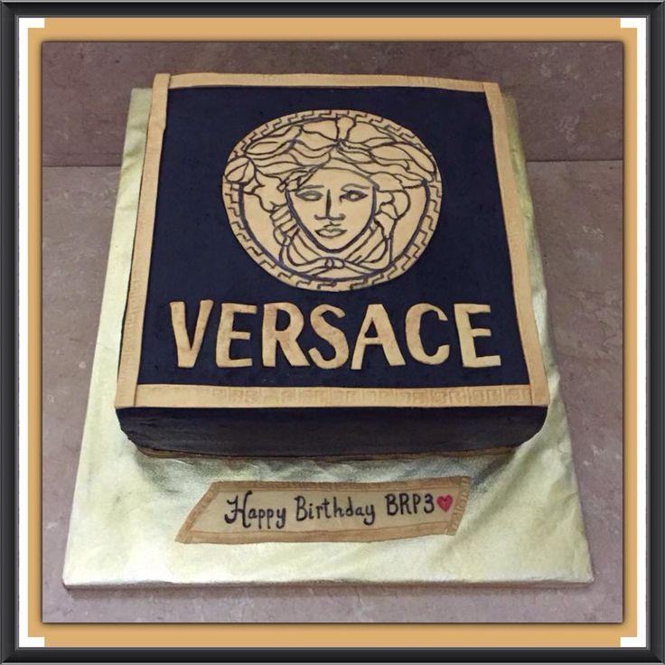 Versace Birthday Cake My Cakes B Amp B S Creative Cakery