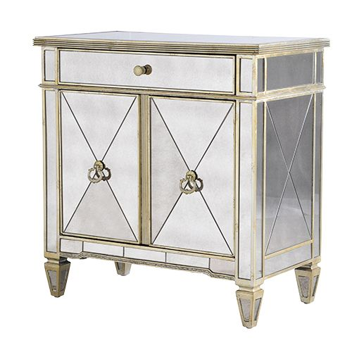 ABBONDIO MIRRORED CABINET