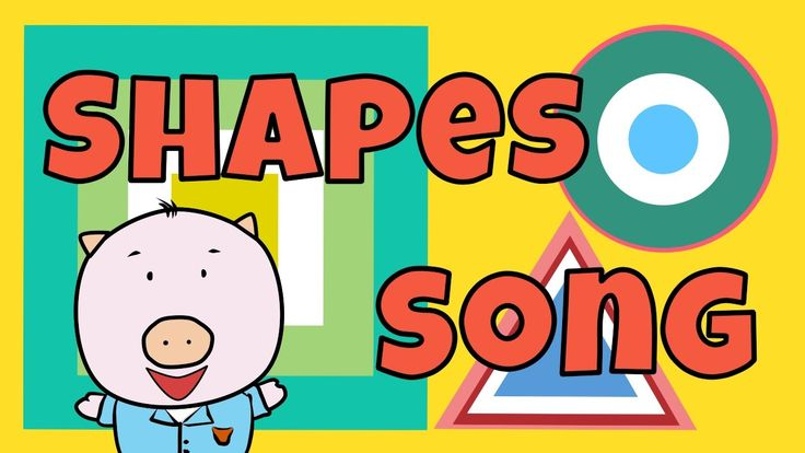 """We are excited to present our """"Shapes Song"""", a groovy and interactive educational song for children to introduce four basic shapes: circle, triangle, square, and rectangle.   Our """"Shapes Song"""" is great to use for home schooling or in the classroom as a part of a fun preschool activity. Each shape is described in detail, and the kids are invited to draw them in the air, along with the video!"""