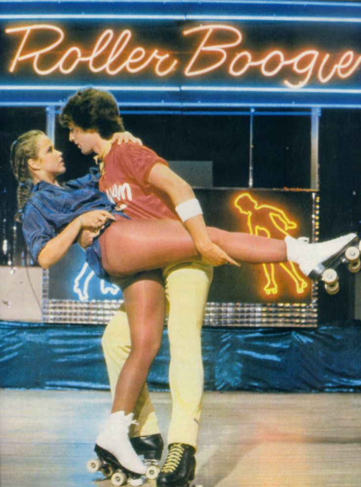 Linda Blair & Jim Bray in Roller Boogie (1979)