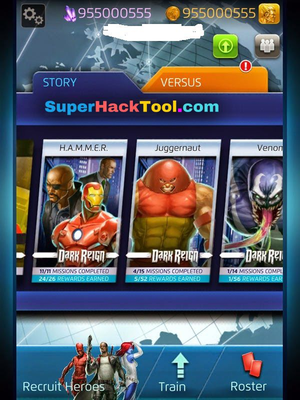 Marvel Puzzle Quest Hack Tool Ios Android New Glitch No