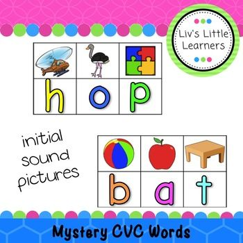 Hi Friends This resource is designed for your students to practice their Phonics. It requires the student to identify the initial sound of the picture and put the letter underneath. This can be done by writing with whiteboard marker or using magnetic letters.