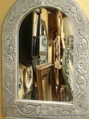 STUDIO NIOTIS: Προσφορά χειροποίητοι καθρέπτες μπρούτζινοι , σιδε...