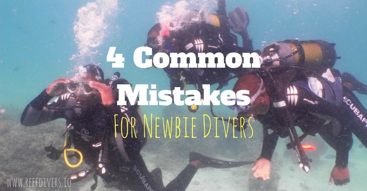 Take a look at this list before learning to scuba dive. #scubadiving #tipsfordivers