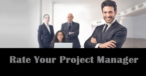 The blog is written to make the project manager realizes their technical and creative capabilities in terms of getting rated by the top professionals in  the management  based on the experience and work performance of the project manager. http://rateyourpm.blogspot.in/2016/09/rate-your-manager-to-make-him-realize-technical-capabilities.html
