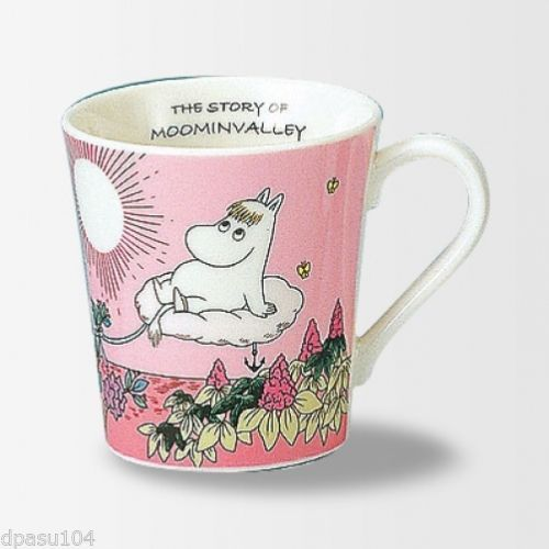Moomin Valley Mug Cup Yamaka Pink from Japan Gift Best Buy | eBay