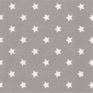 Oilcloth-Star Little-Grey 0,5 meter