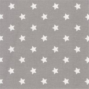 Oilcloth-Star Little-Grey 0,5 meter