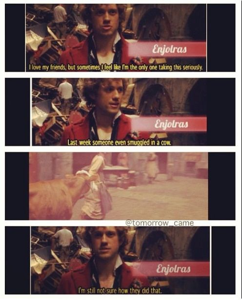 Enjolras on the Amis