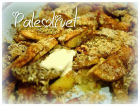 Paleolivet: Æbletærte med raw cashew creme