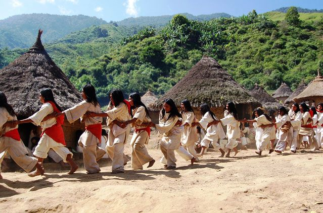 The indigenous tribes of Colombia