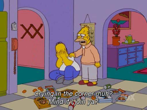 Mind if I join ya? - Abe Simpson