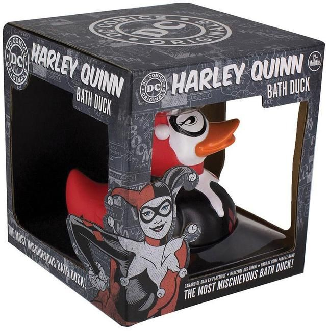 Homewares - DC Comics Harley Quinn Bath Duck - Buy Online Australia – Beserk