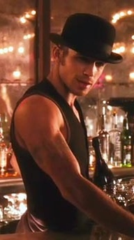 Cam Gigandet in Burlesque! <3