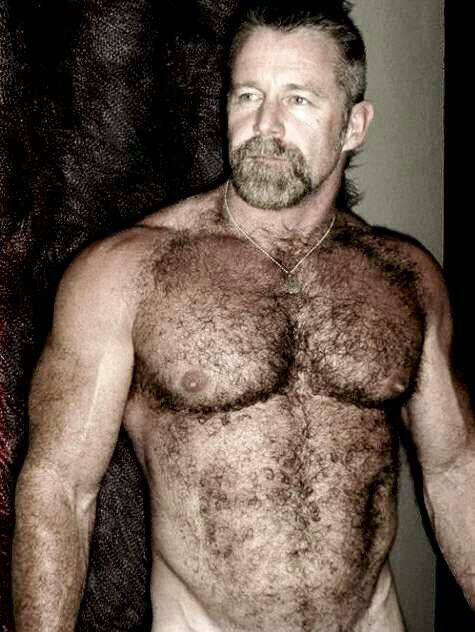 Hairy Muscle Bear Men Beards  Men  Pinterest  Bear Men, Muscle Bear And Sexy Men-9114