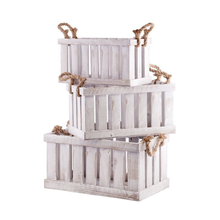 Muy mucho cajas madera con asa mesas invierno naturales for Cajas de madera aki