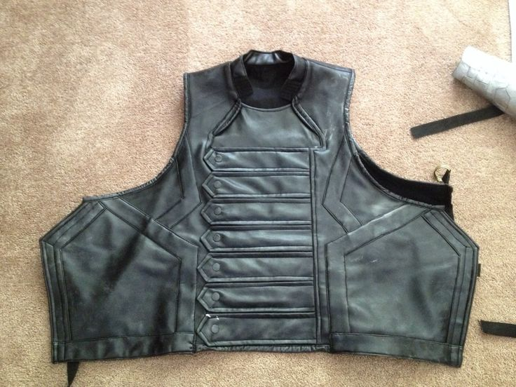 winter soldier vest i will have to try and build - Halloween Bullet Proof Vest