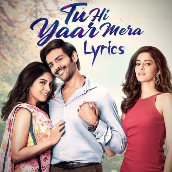 Tu Hi Yaar Mera Lyrics Arijit Singh Neha Kakkar In 2020 Mera Lyrics Neha Kakkar