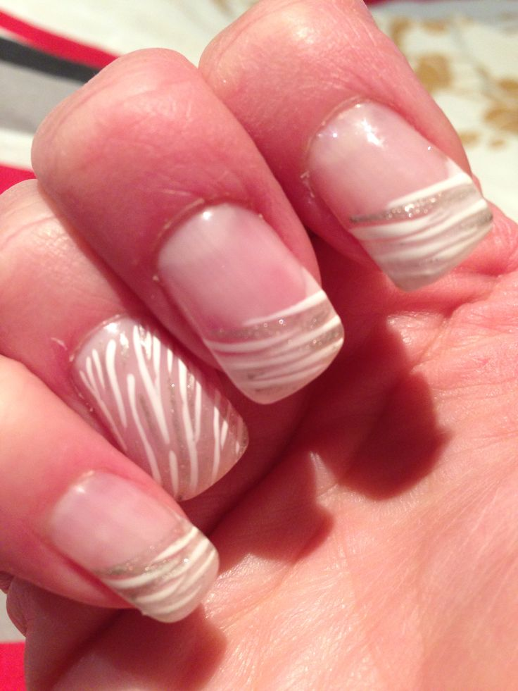 67 best French Tip Nails! images on Pinterest