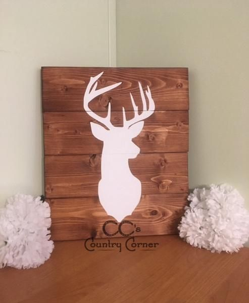 Little Leo S Nursery Fit For A King: 25+ Best Ideas About Deer Head Silhouette On Pinterest