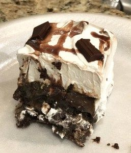 This Chocolate Goo Cake is the most delicious chocolate poke cake!
