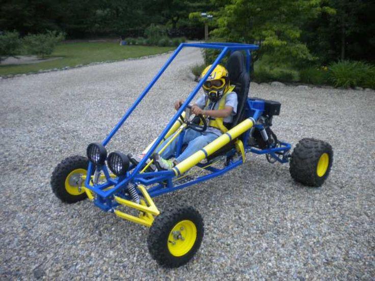 Custom Go Kart Frames | Customer Build of the Arachnid Go Kart