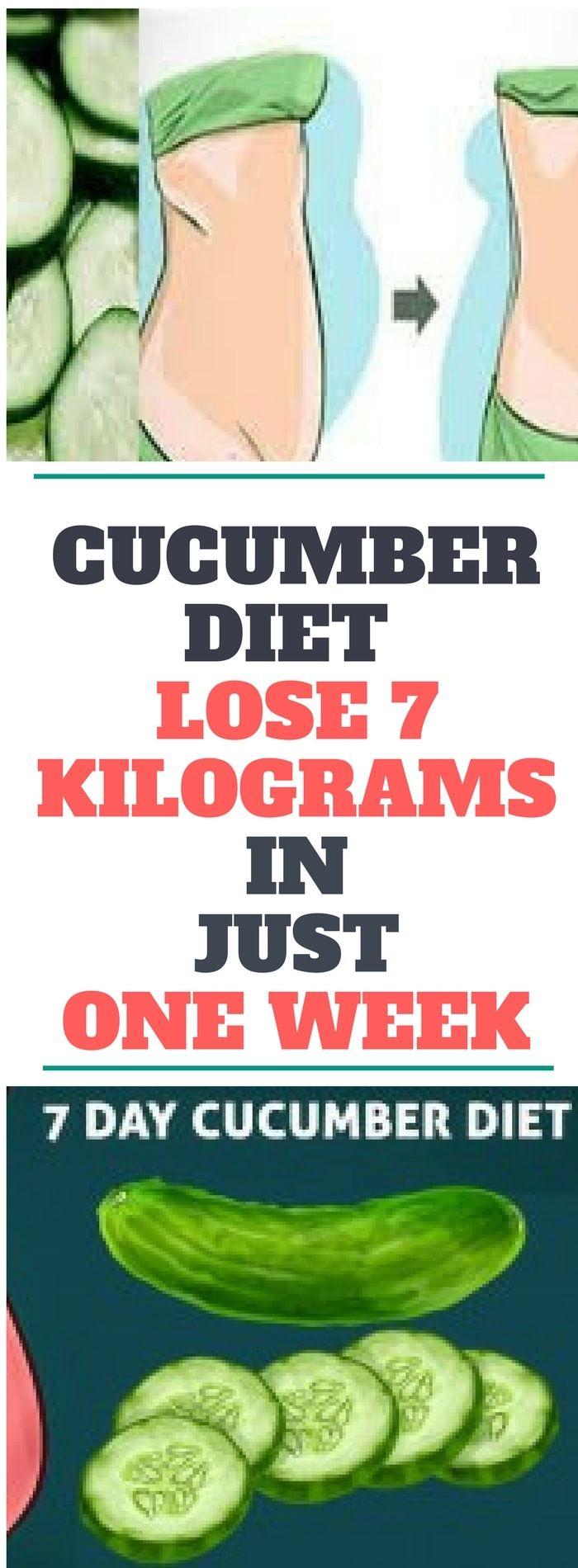 Cucumber Diet – Lose 7 Kilograms In Just One Week...! Need to know!! !!!