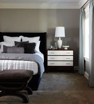 159 best images about empty bedroom ideas on pinterest ghost chairs black beds and Master bedroom with grey furniture