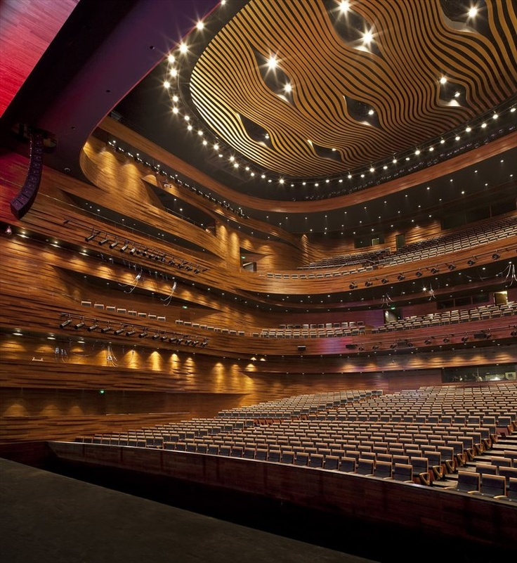 Wuxi Grand Theatre, Wuxi, 2012 by PES - Architects #architecture #china #wuxi #theatre #spectacular #metal