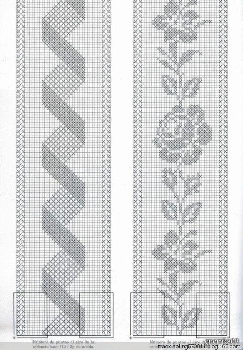 手钩床罩:1、美丽的面纱 - maomao - 我随心动