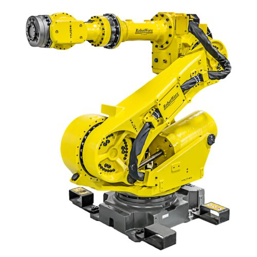 1a33db0e804da8cd25fd48997fc5ec36 16 best fanuc images on pinterest robots, robot factory and  at gsmportal.co