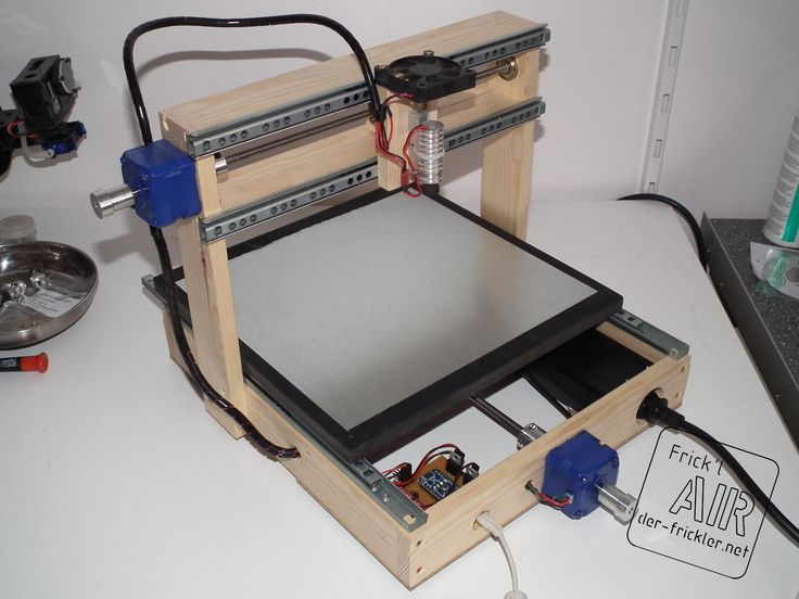 DVD laser diode used to build a laser engraver