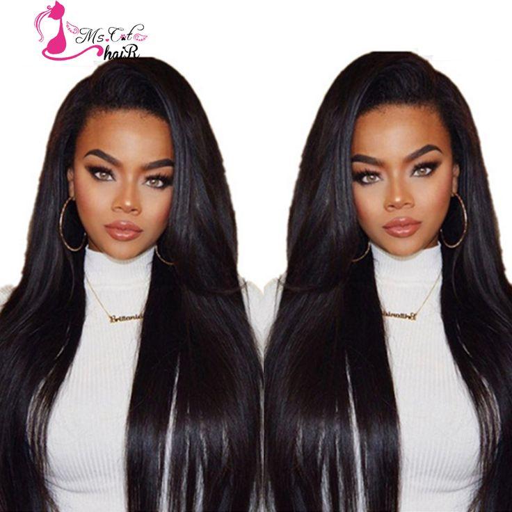 Ms Cat Hair Brazilian Straight Hair 4 Bundles,8A Grade Unprocessed Human Hair Straight Weave,Brazilian Virgin Hair Soft Weaving