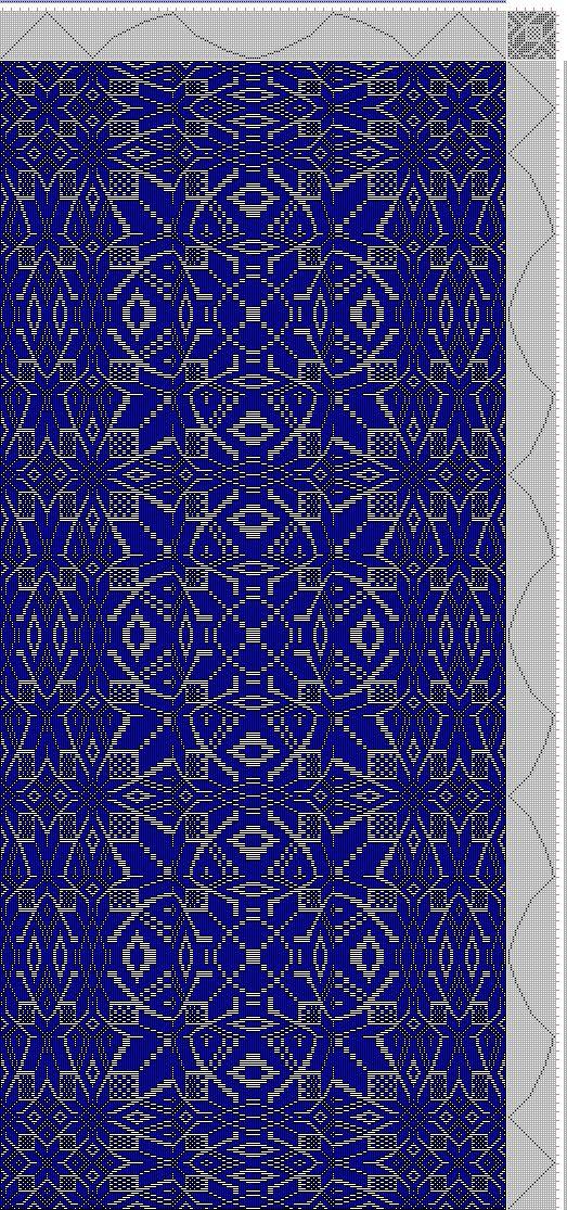 Mano Weaving Progetto: Profilo distorta Morath, modificato Morath tie-up, 22S, 22T - Handweaving.net mano tessitura e Draft Archive