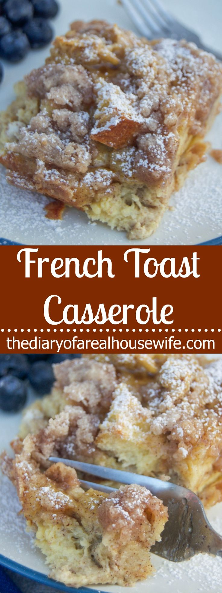 French Toast Casserole. So simple and easy to make! Plus this recipe can be finished in an hour!
