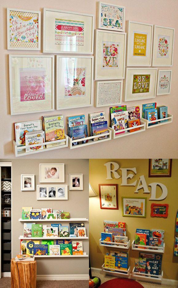 Já pensou em montar uma biblioteca infantil em que todas as capas dos livros aparecem? Os pequenos ...
