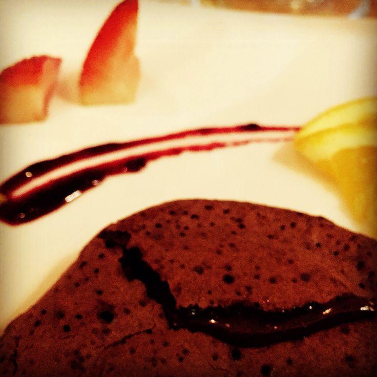 Chocolate fondant @ Le Chef Auckland