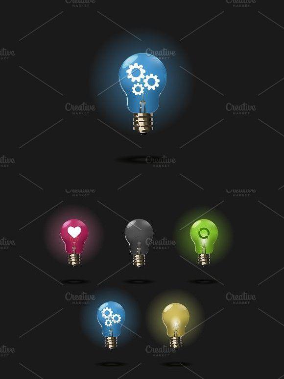 Dark Light Bulb Set Light Bulb Bulb Light